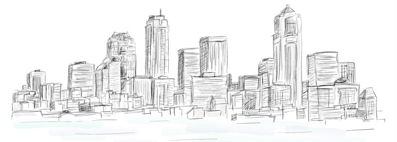 city-scetch - website-for building company